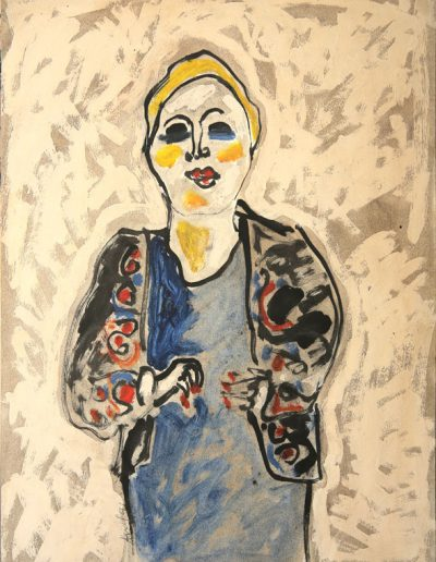 Madame Jeannot n°3, 1991.