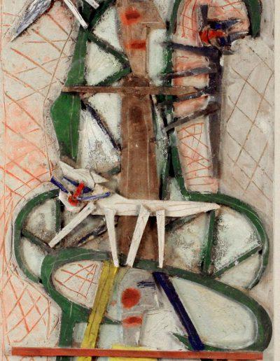 Personnage dans un fauteuil n°4, 2010.