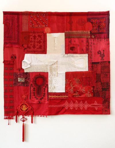 Un drapeau suisse, 2013.