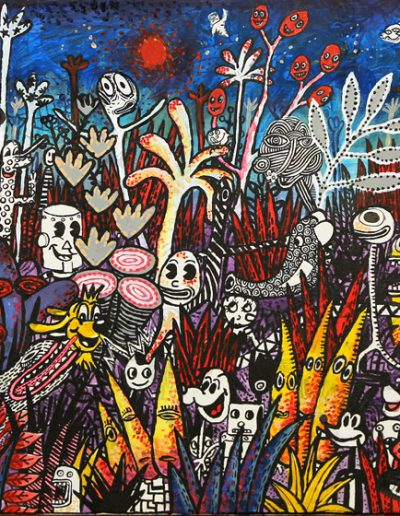 Carnaval des animaux n°1, 2008.