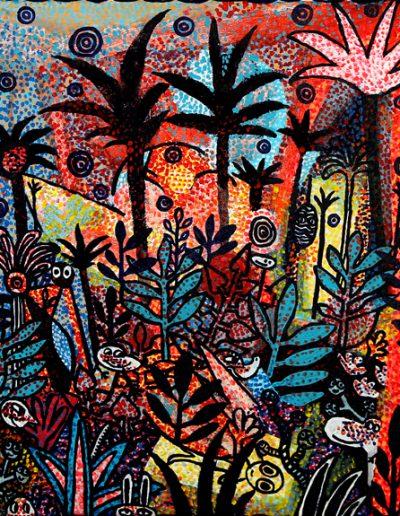 Forêt enchantée avec Pulp, 2009.