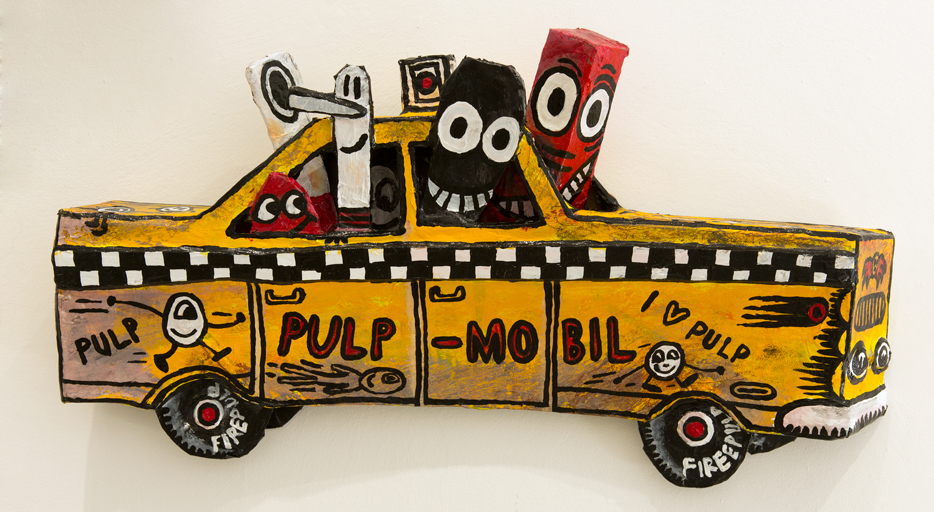 Yellow cab Pulp mobil, 2016.