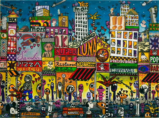 Pizza Circus, 2016.