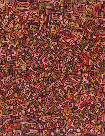 Algorithme visuel n°2, 2011.