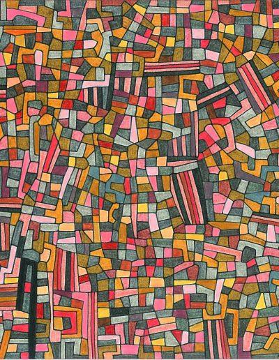 Algorithme visuel n°3, 2011.