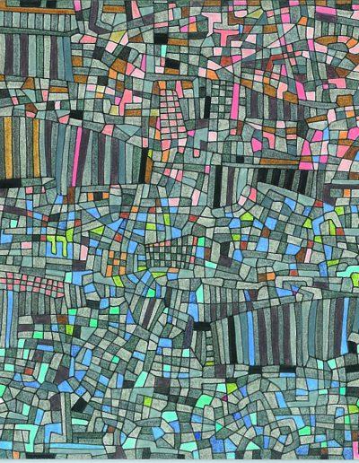 Algorithme visuel n°4, 2011.