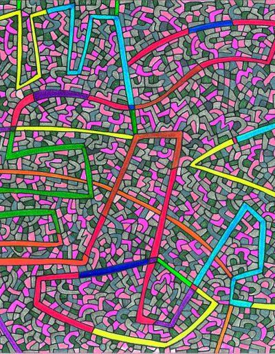 Algorithme visuel n°6, 2012.