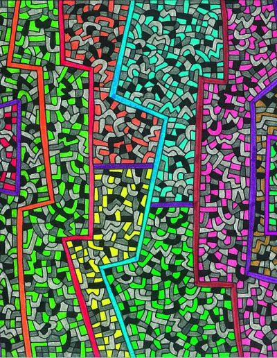 Algorithme visuel n°10, 2013.