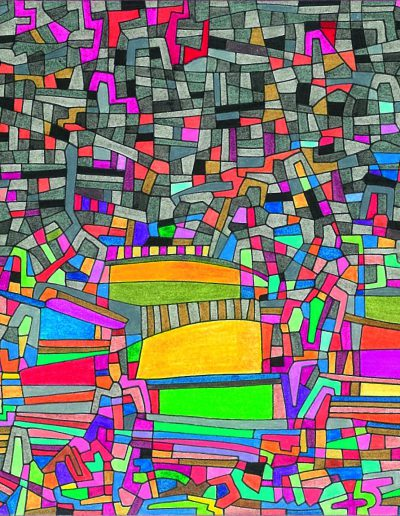Algorithme visuel n°11, 2013.