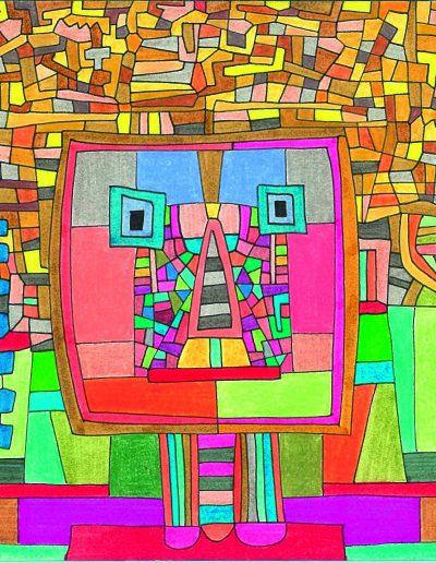 Algorithme visuel n°8, 2013.