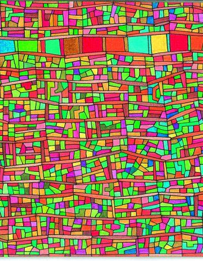 Algorithme visuel n°9, 2013.