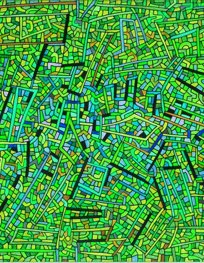 Algorithme visuel n°18, 2014.