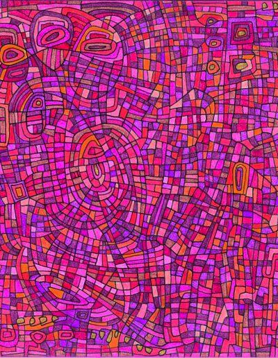 Algorithme visuel n°19, 2014.