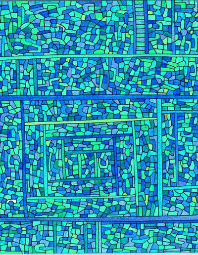 Algorithme visuel n°21, 2015.