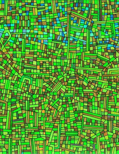 Algorithme visuel n°25, 2015.