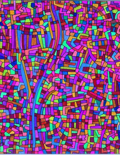 Algorithme visuel n°26, 2015.