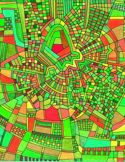 Algorithme visuel n°38, 2016.