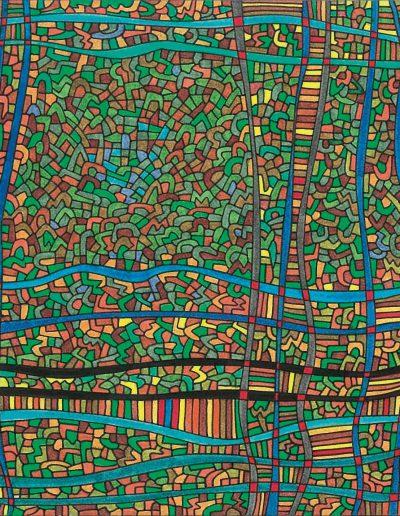 Algorithme visuel n°40, 2016.