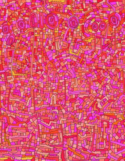 Algorithme visuel n°47, 2012.