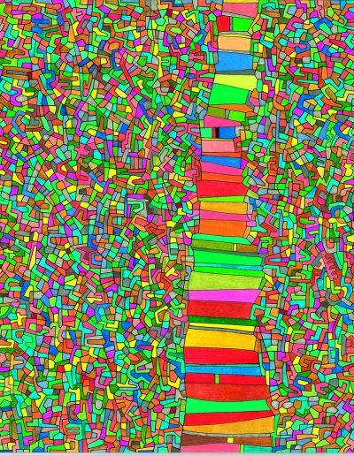 Algorithme visuel n°51, 2012.