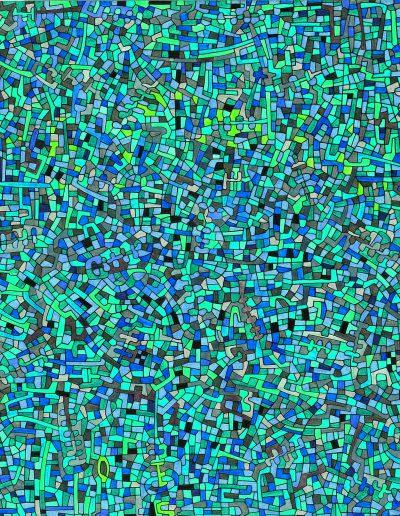 Algorithme visuel n°52, 2012.