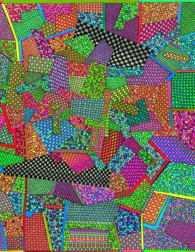 Algorithme visuel n°58, 2014.
