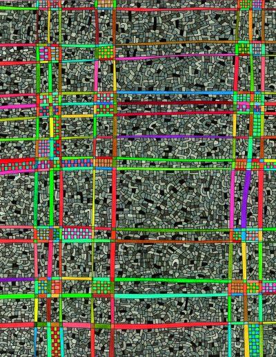 Algorithme visuel n°59, 2015.