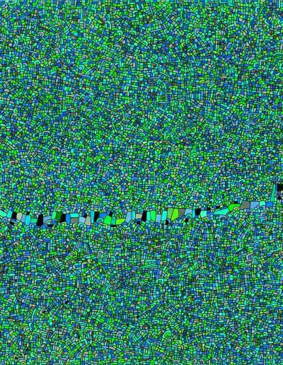 Algorithme visuel n°60, 2015.