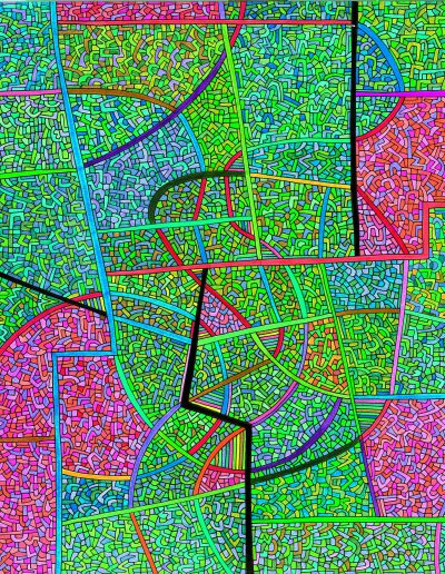 Algorithme visuel n°63, 2015.
