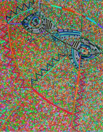 Algorithme visuel n°65, 2016.