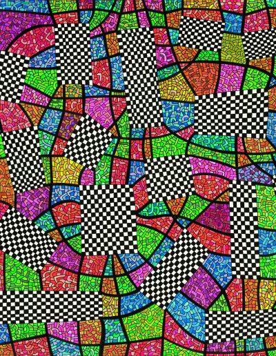 Algorithme visuel n°66, 2016.