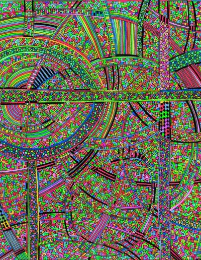 Algorithme visuel n°69, 2016.