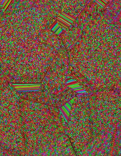 Algorithme visuel n°70, 2016.