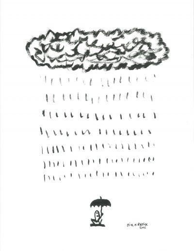 La pluie, 2016.
