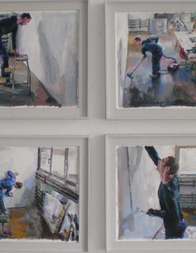 Entretien de l'atelier, 2009.