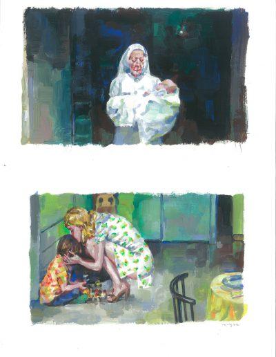 Errance n°2, Dyptique, 2016.