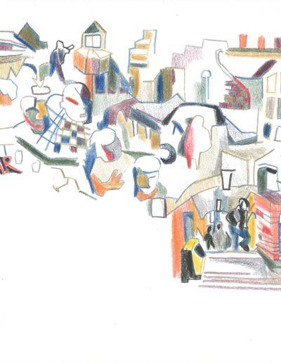 Bar et bouche, 2001.