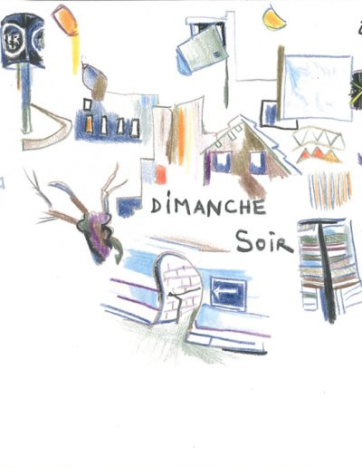Dimanche soir, 2001.