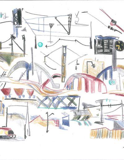 Toujours des gares, 2001.