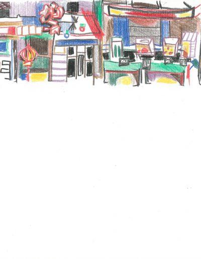 La rue d'en face, 2001.
