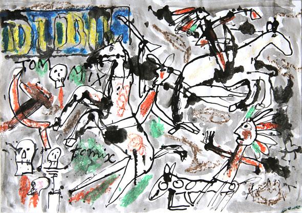 Tom Mix n°2, 2013.