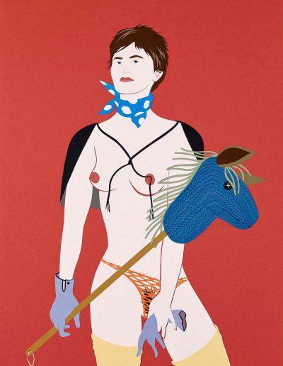 La cavalière, 2014.