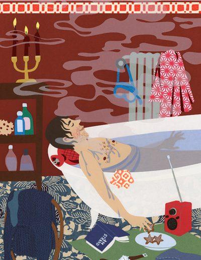 Le bain, 2014.