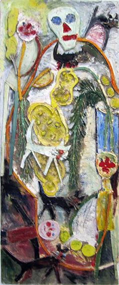 Mimosas, chattes et tronches de mort n°14, 2012.