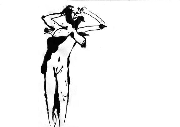 Dessin érotique n°4, 2012.