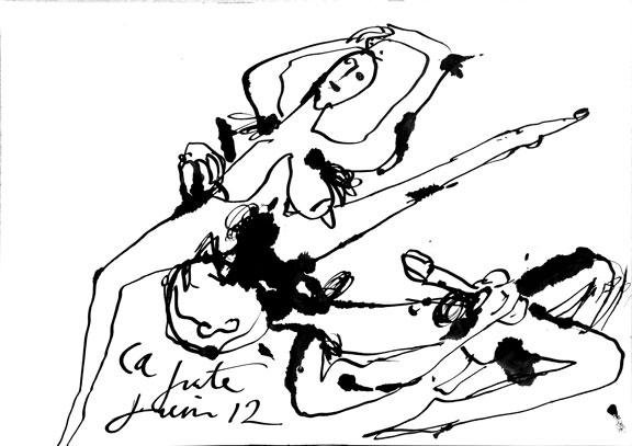 Dessin érotique n°3, 2012.