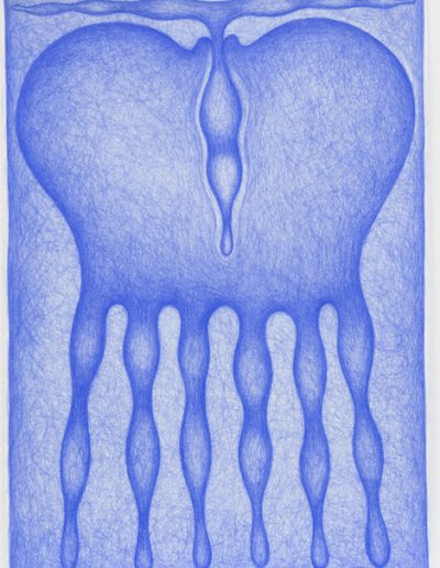 Dessin bleu n°13, 2000-2004.