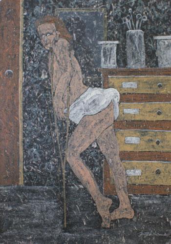 Les danseurs immobiles n°4, 2009-2010.