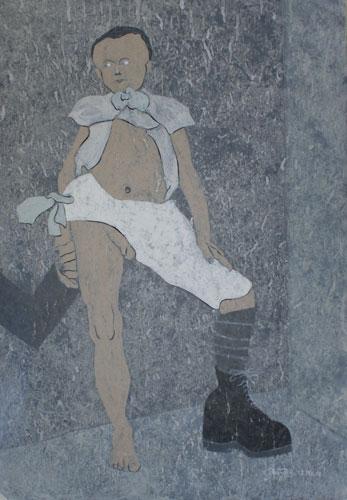 Les danseurs immobiles n°6, 2009-2010.