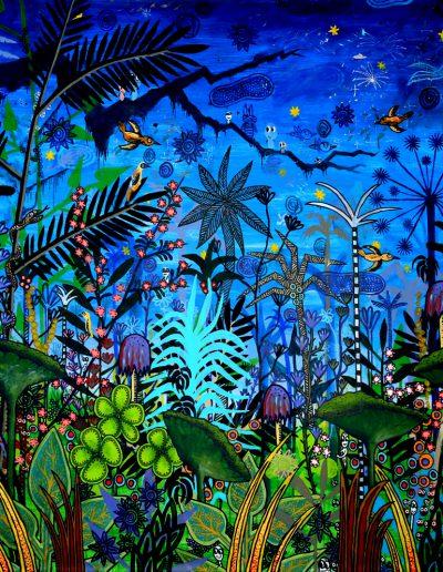 Paradis fantastique en bleu – Partie 1, 2012.